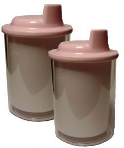 Kiwi (6) Acrylic Custom Photo or Kiwi Paper Sippy Cups