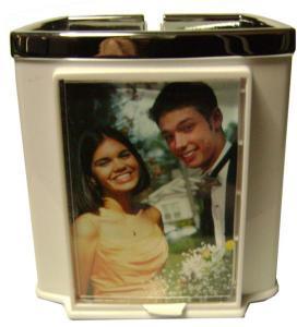 Acrylic Custom Photo or Kiwi Paper Cell Phone Holder