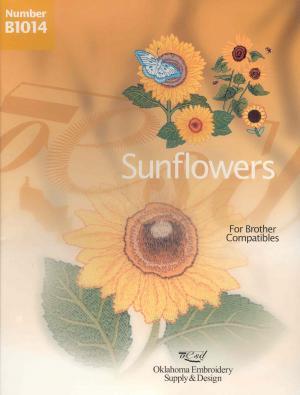 OESD B1014 Sunflowers Embroidery Card