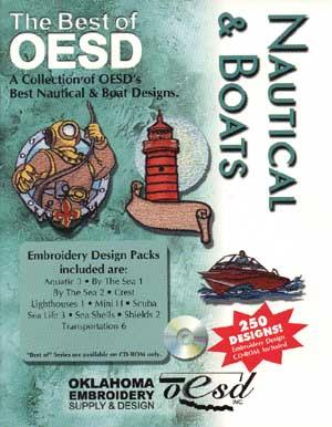 OESD The Best Of Nautical and Boats Embroidery CD