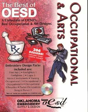 OESD The Best Of Occupational and Art Embroidery CD