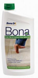 Bona BK76005116 Stone Stile Laminate Floor Refresher 32oz Squirt Bottle, Sealed Hard Surface Vinyl NoWax Linoleum Terrazzo UnGlaze Tile Ceramic Marble