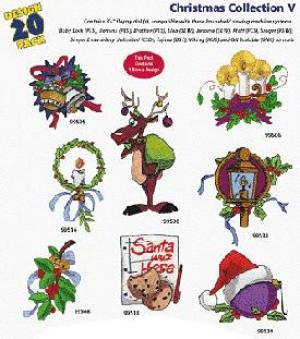 Amazing Designs / Great Notions 1164 Christmas V Multi-Formatted CD