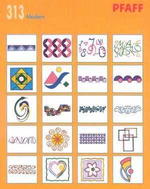 Pfaff 313 Modern Embroidery Card