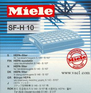 Miele SF-H10 (S100) HEPA Filter 04714432 For S142-S157 Upright Vacuums