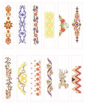Pfaff No. 48 Pattern Combinations Embroidery Card