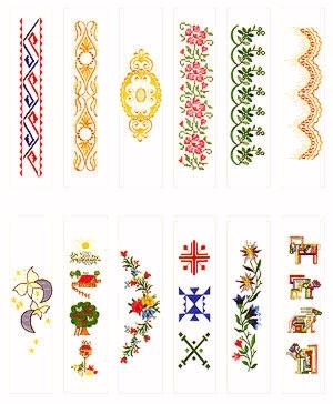 Pfaff No. 49 Pattern Combinations Embroidery Card