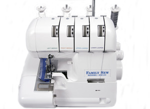3511:  Yamata Family Sew FS320 Serger Open Front Easy 234 Threading, Roll Hem (Babylock Vibrant, White Superlock, Dreamstitcher, Singer Viking, Maruzen, Gemsy, Rex)