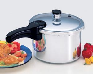 Presto 01241 4Quart 3.8L Aluminum Pressure Cooker, Inst. & Recipe Book