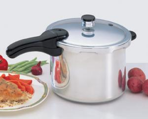 Presto 01264 6 Qt Aluminum Pressure Cooker