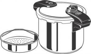 Presto 01370 Pride, 8 Quart 7.6 Liter, Stainless Steel Pressure Cooker