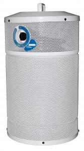"AllerAir AirTube Supreme Vocarb Medical Grade HEPA Air Purifier Metal, 19x11"", 100CFM, 10Lb MAC-B Activated Carbon, Office Hotel Nursery, 6'Cord, 17Lb"
