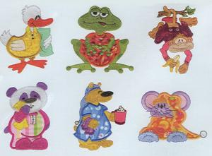 Dakota Collectibles F70343 Bedtime Critters Applique Multi-Formatted CD