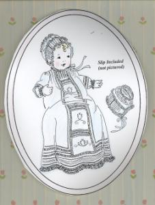 Old Fashion Baby French Acadian Christening Gown Pattern Jeannie Baumeister