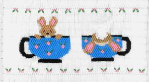 Cross-eyed Cricket  CEC117 Bottoms Up Smocking Plate