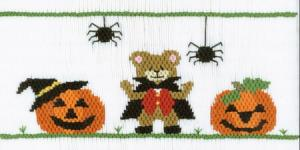 Cross-eyed Cricket Halloween Delight #159 Smocking Plate