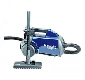 Sanitaire S3681,  Blue Line Mighty Mite Lightweight Canister Vacuum Cleaner 1400W, 12A, 20' Cord, 7' Hose, Tools