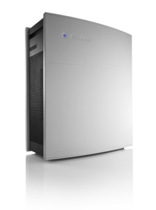 Blueair 450E Go HEPASilent Eseries Air Purifier Cleaner, Electronic Sensors & Remote, 395SqFt, 5x/Day, FilterChange OnOffTimer AutoSpeed 10YrWnty 33Lb