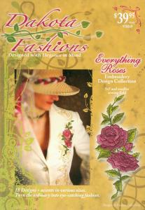 Dakota Collectibles 970369 Everything Roses Embroidery Designs Multi-Formatted CD