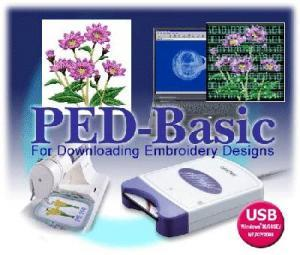 Brother PED Basic Embroidery Designs Download Writer Box, Blank Card, 7Extras $50Values, Software Download Essentials, Test 21 Stabilizer Samples, DVD