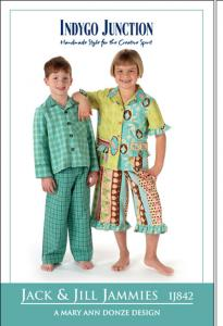 Indygo Junction Jack And Jill Jammies Pattern Sizes  4-6-8-10-12