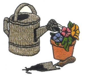Amazing Designs ENHMC 1110 / 110 Country Garden I Elna, Janome  Embroidery Card