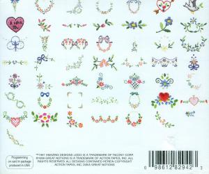 Amazing Designs ENHMCMP1 Martha Pullen's Little Pleasures Coll. 1 Janome Elna Embroidery Cards