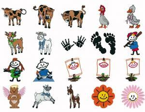 Amazing Designs HMC DJ1 Deborah Jone's Grandmother's Pride Viking Embroidery Card