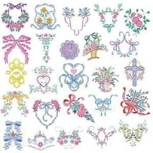 Amazing Designs HMC MP3 Martha Pullen's Heirloom Collection I Viking  Embroidery Cards