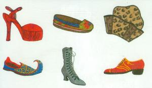Amazing Designs HMC SB3 Sandra Betzina's Far East  Viking  Embroidery Card
