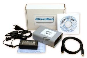 SilverKnit Pattern Control Box, USB Cord, 100-240V Adapter +Emulator Software