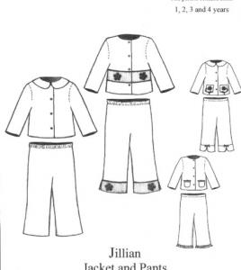 Bonnie Blue BBDP112 Jillian Jacket and Pants Size 1-4yrs