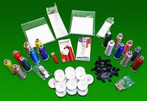 Melco Amaya Bravo 33341 Starter Kit, Madeira Thread, Organ Needles, Prewound Bobbins, Stabilizers