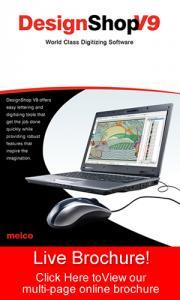 Melco Amaya Bravo 32676-02 Design Shop Lite V10 Software, No Dongle Required