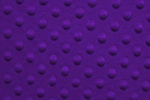 "Shannon Fabrics cddrpurple Cuddle Dimple Purple 100% Polyester 58"" Fabric"