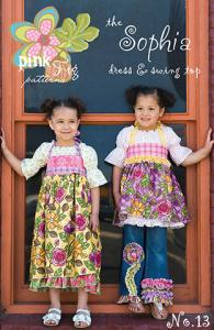 Pink Fig Sophia Dress & Swing Top Pattern