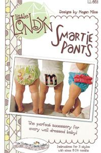 Little London LL803 93-6329 Smartie Pants Diaper Cover, 0-12 mo, 12-24mo
