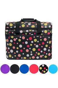 """Bluefig CB18 Sewing Machine Carry Case Tote Bag 13Hx17Wx7""""D +5 Pockets"""