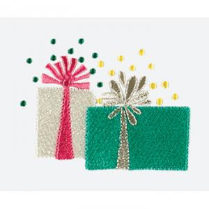 Amazing Designs ADP-37F Ho Ho Holidays Embroidery Designs Multi-Formatted, with FREE Hot-Fix Crystals