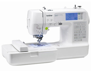 "Brother RLB6770 FS 67/98 Stitch Sewing 4x4"" Embroidery Machine - Factory Serviced, 5 Extras!"