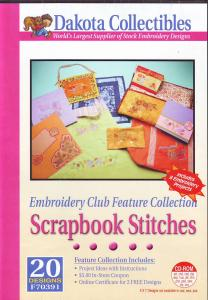 Dakota Collectibles F70391 Scrapbook Stitches Multi-Formatted CD