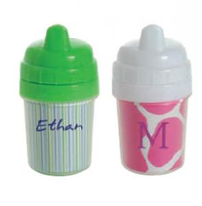 Kiwi 502W Acrylic Custom Photo or Kiwi Paper 5 Ounce Baby's First Sippy Cup Embroidery Blank