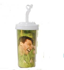 Acrylic Custom Photo or Kiwi Paper  Travel Tumbler Cup 575