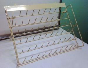 Largest Metal Thread Stand Rack, 60 Spool Pins for 1100Yd Mini King Embroidery Cones
