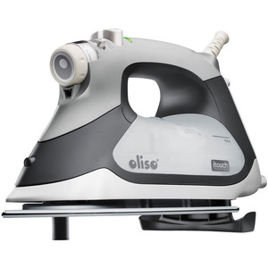 Oliso TG-1100 GreyContinuous Steam Burst  iTouch Smart Iron TG1100 Has Legs, 8 Minute Auto Shut Off, Stainless Steel Soleplate