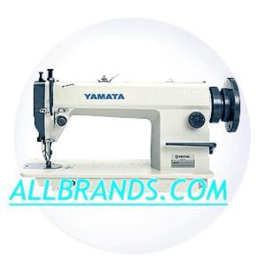 Yamata FY5318 Walking Foot Upholstery Sewing Machine (Juki 201) 6/13mm Foot Lift, 8mm Stitch Length., M Bobbin, Set Up Power Stand, 2000 RPM, Auto Oil