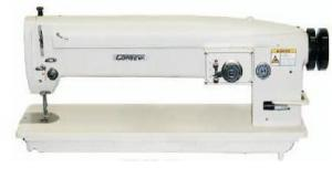 """Consew 199RBL-3A 30""""Arm, 4Step 3Stitch Needle Feed Sewing Machine & Assembled Power Stand"""