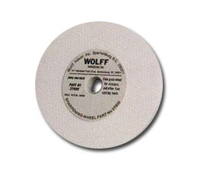 "Wolff 27000 Grinding Sharpening Wheel 1/2""x5"" Diameter for INDTAS A1 Twice as Sharp Scissor Shears Sharpener"