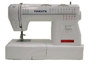 Yamata, FY920, 18 Stitches, 45 Functions Mechanical, Sewing Machine, Built In Buttonhole, Stitch Length Dial, Reverse Stitch, Bobbin Winder, 800 SPM