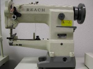 "GC-0628-1 Cylinder Bed Walking Foot Industrial Sewing Machine GC0628, 3/4"" Foot Lift, Mbobbin AutoOil PowerStand 2200SPM Zoje Yamata (111W) 100Needles"